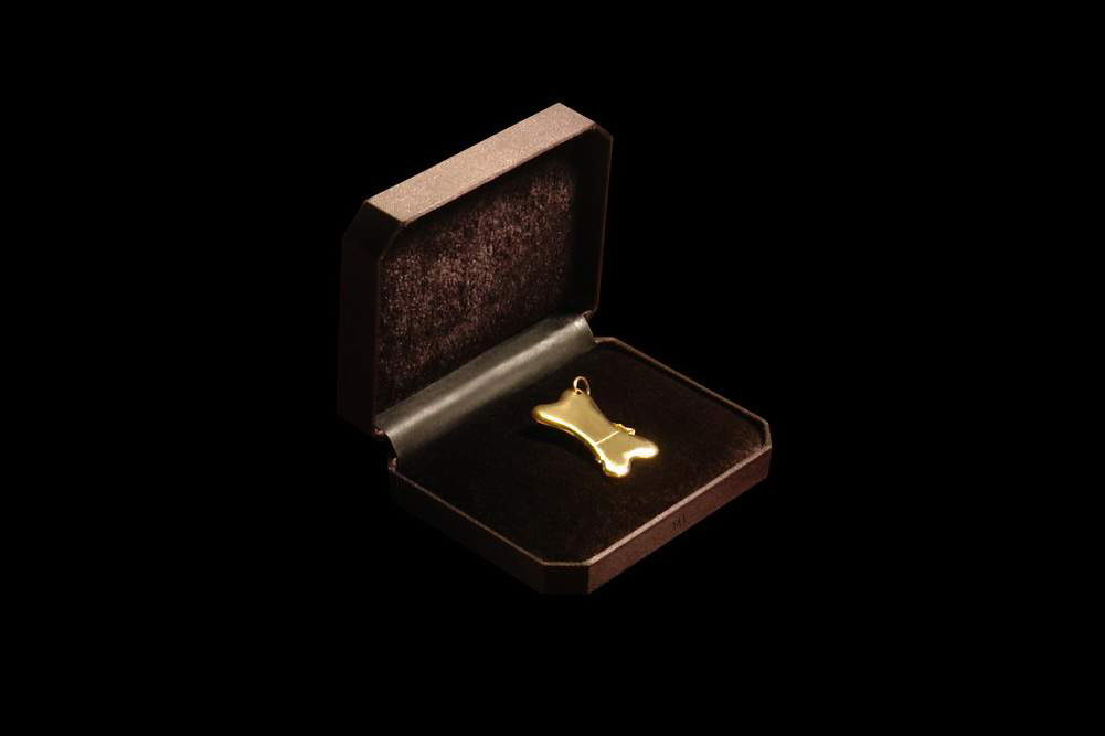 MJ - USB Flash Drive Gold Edition - Gold 777, Luxury Box from Eel Skin & Velvet
