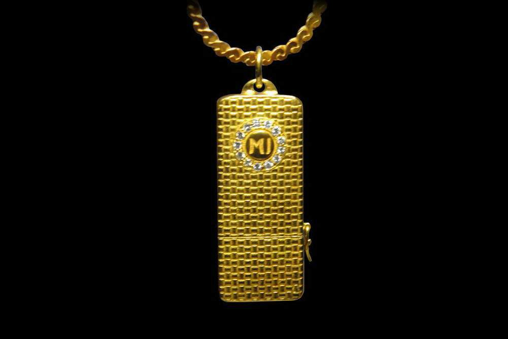 MJ - USB Flash Drive Gold Limited Edition - Single Copy Solid Gold, Diamonds.